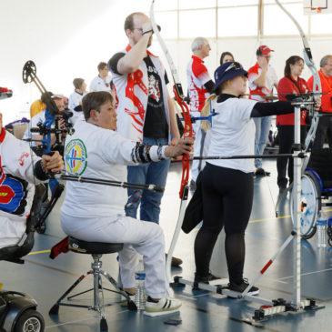 Championnat régional de tir à l'arc catégories DV et handicap moteur