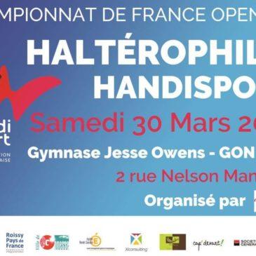Championnat de France Open IPC d'haltérophilie handisport