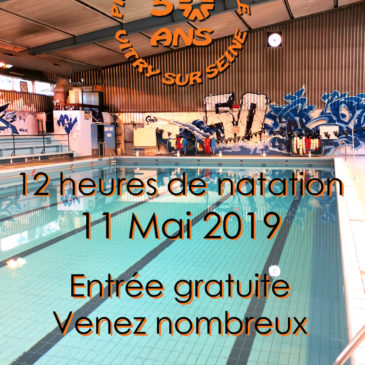 50 ans Piscine Municipale Vitry-Sur-Seine