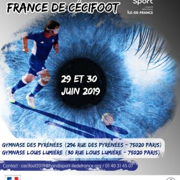 Phases finales du championnat de France de Cécifoot