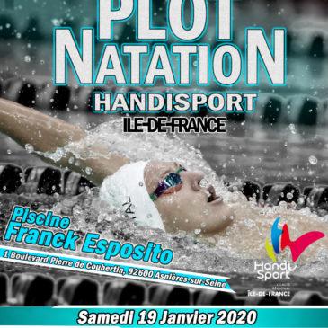 2ème plot de natation Handisport Île-de-France