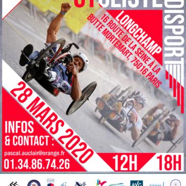 Critérium Cycliste Handisport de Longchamp