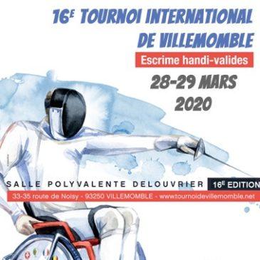 Tournoi de Villemomble – Escrime