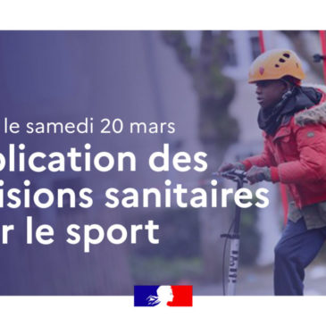 Dispositions sanitaires sportives