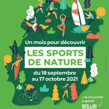 Journées sport de nature Essonne (91)