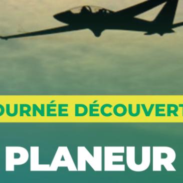 JOURNÉE DECOUVERTE VOL EN PLANEUR